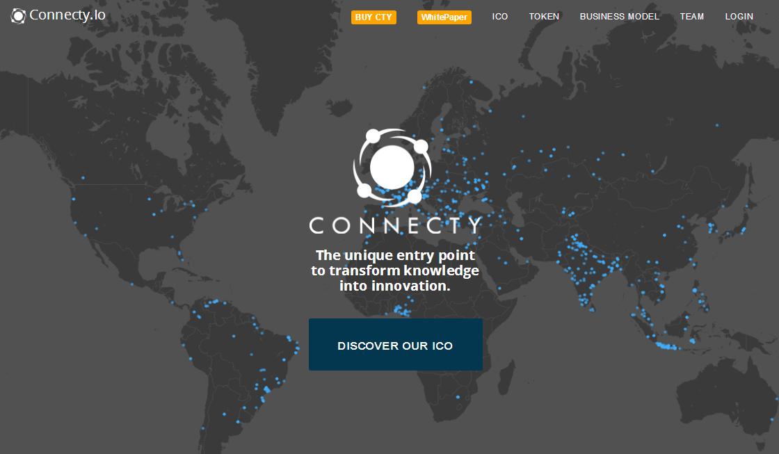 Connecty空投3400个CTY,价值 40.8 USD