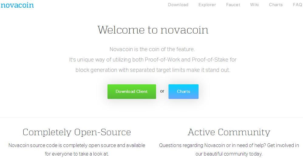 Novacoin空投50个NVC