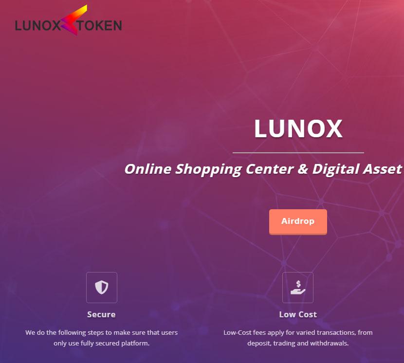 lunoxtoken空投2000个LNX
