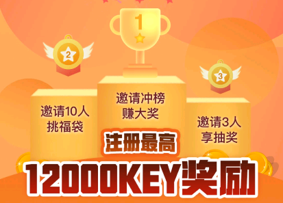 MYKEY钱包,注册扫脸认证免费送eos账号+12000个币乎KEY