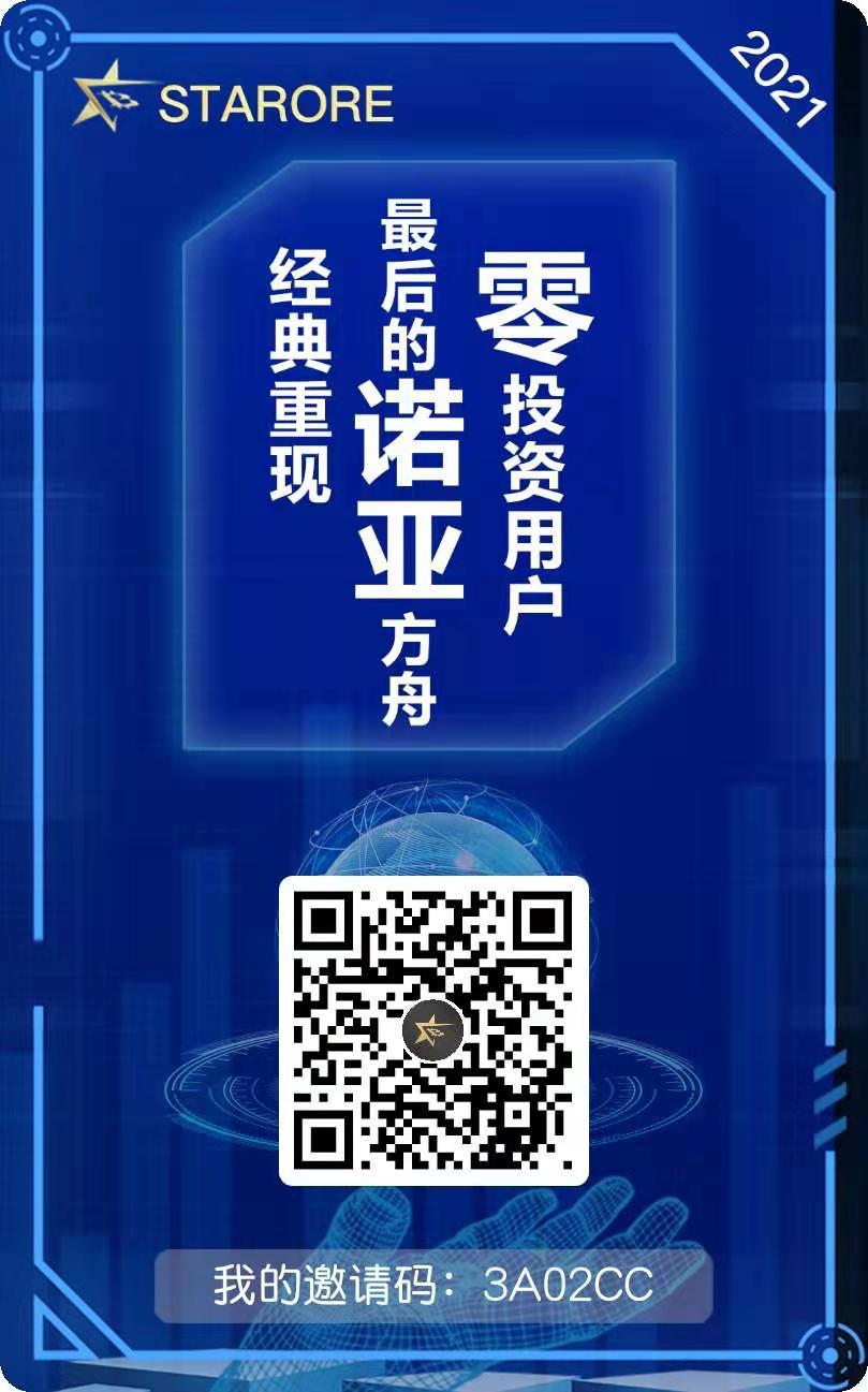 STARORE_矿机挖矿模式,注册认证,送矿机1台,等级团队化收益